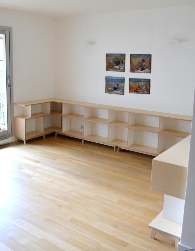 Biblioth que basse giorgio cattai - Bibliotheque basse ...